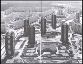 Leningrad mass housing
